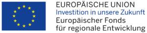 Europäischer Fonds für regionale Entwicklung Förderhinweis